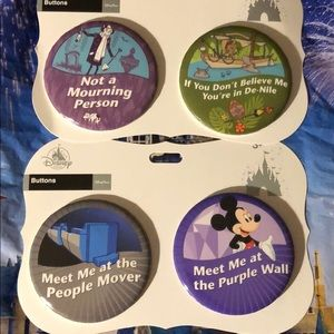 Disney Parks Button Bundle